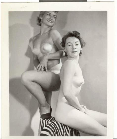 Retro Pinup Models From S Are Naked