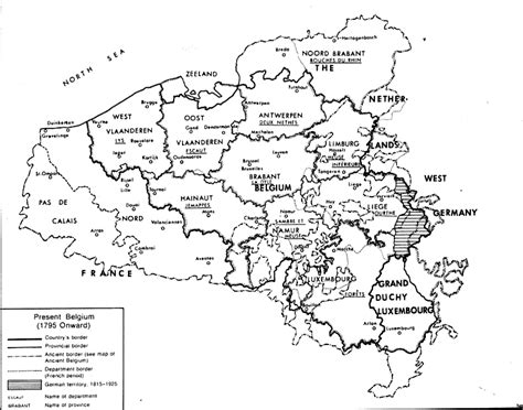 Historical Maps Of The Netherlands