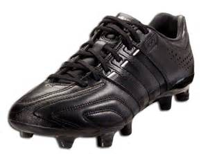 All-Black Adidas Soccer Cleats