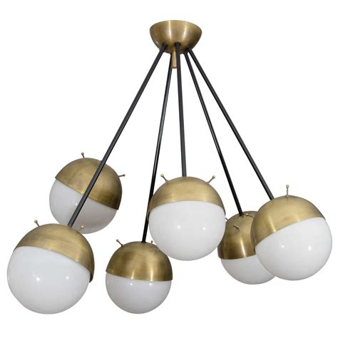 stilnovo multi light chandelier at 1stdibs