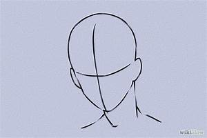 Best Photos of Anime Head Template - Anime Head Outline ...