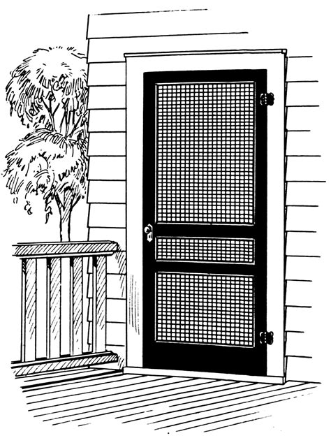 the screen door screen door