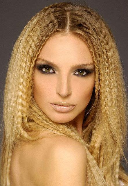 hair crimping styles https flic kr p 7foahx creatively crimped coiffure 2363