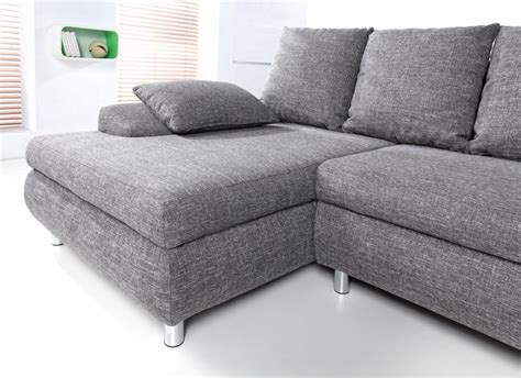canapé d angle gris tissu photos canapé d 39 angle tissu gris