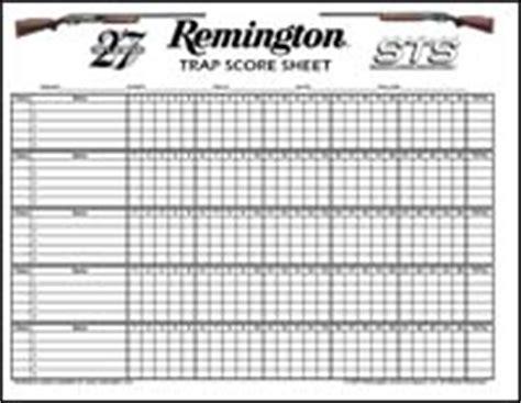 score sheets 171 shoot p i t a