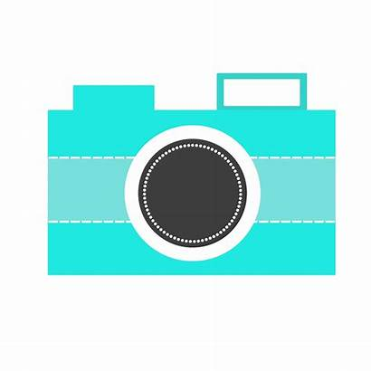 Camera Clip Clipart Nikon Cliparts Sony Vector