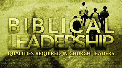 negotiable qualities  church leaders titus
