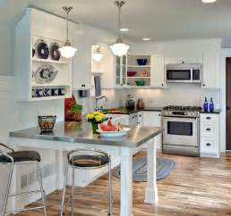 freestanding kitchen island with seating creative ways to save space in your small kitchen