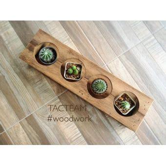 บอกต่อ TACTEAM ที่วางแก้ว 4 ช่อง / ที่วางต้นไม้เล็กเหมาะสำหรับตกแต่งบ้านให้ดูสดใส หรือวางบนโต๊ะ ...