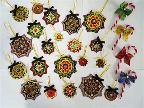 christmas fabric ornaments with bonus candy canes pattern