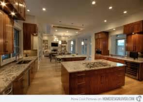 large kitchen ideas 15 big kitchen design ideas decoration for house