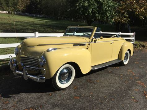 Chrysler For Sale 1940 chrysler new yorker convertible for sale