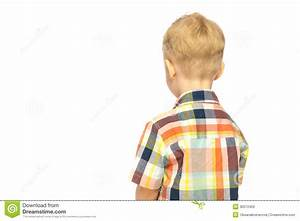 Child turned his back stock photo. Image of copyspace ...