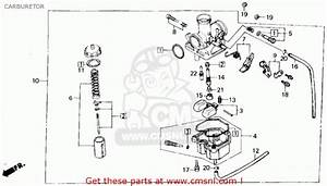 Honda Trx 250 Carburetor Schematic