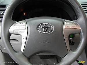 2010 Toyota Camry Xle V6 Ash Gray Steering Wheel Photo