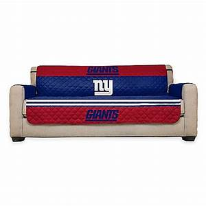 Buy nfl new york giants sofa cover from bed bath beyond for Nfl furniture covers
