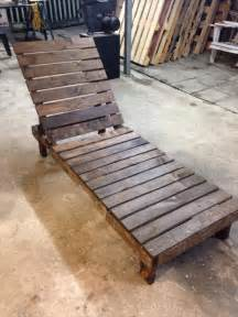 Construire Chaise Longue Palette by Diy Pallet Lounge Chair Patio Furniture 101 Pallets