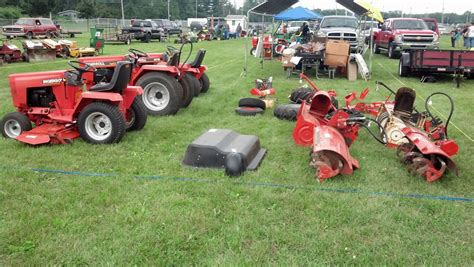 Case Garden Tractor Tillers