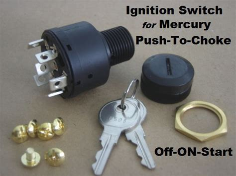 Boat Marine Outboard Ignition Off/on/start 6 Terminal Key