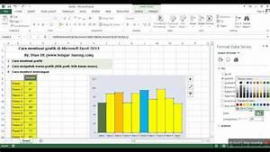 Cara Membuat Grafik  Chart  Diagram Di Microsoft Excel 2013