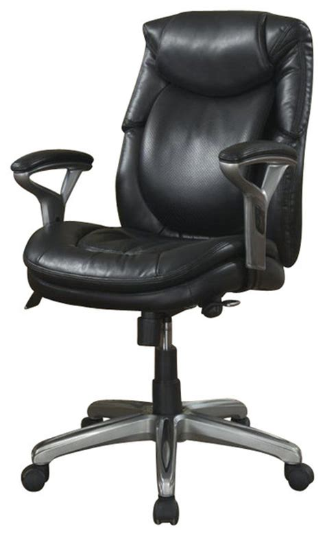 serta by true innovations serta air office chair in black