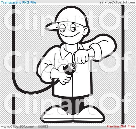 11271 electrician clipart black and white testing clipart black and white collection