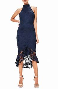 trendy lace bodycon dresses for summer wedding guests With navy blue dresses for wedding guest