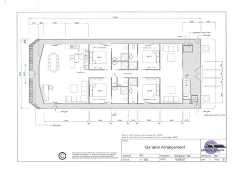 Houseboat Holidays by Houseboat Holidays Vessel Floor Plans