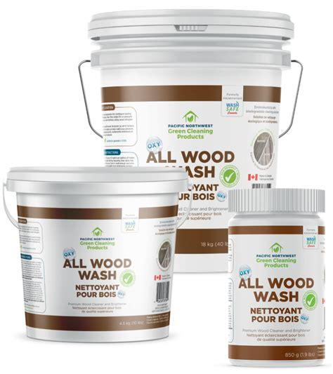 wood wash pacific northwest green cleaning products