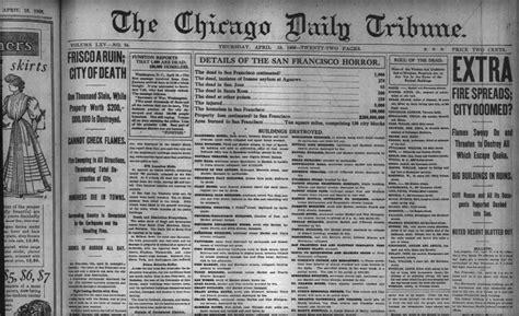 calumet 412 chicago tribune headline april 19 1906