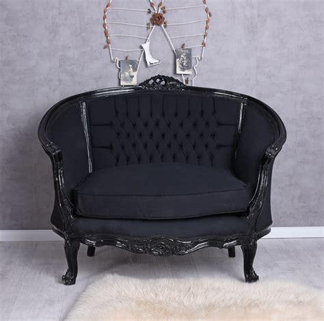 canapé banc fauteuil baroque canapé noir banc canapé canapé baroque