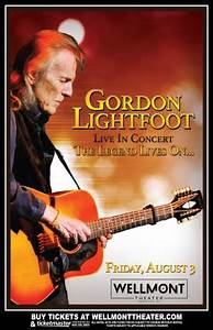 Gordon Lightfoot The Wellmont Theater