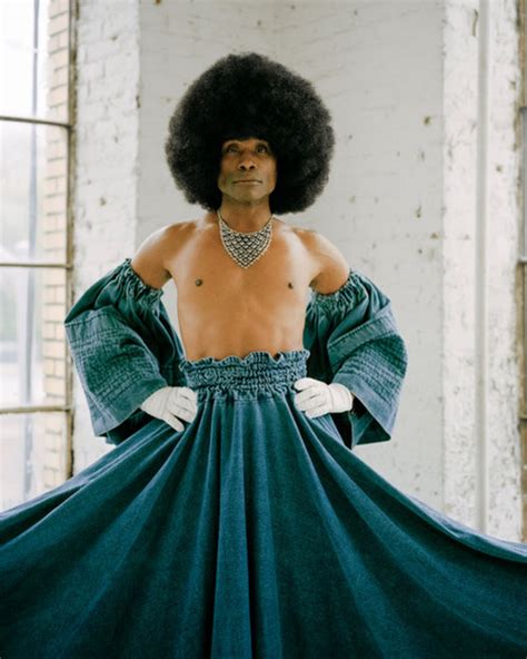 Billy Porter Slays Amazing Flowing Skirt New Photoshoot