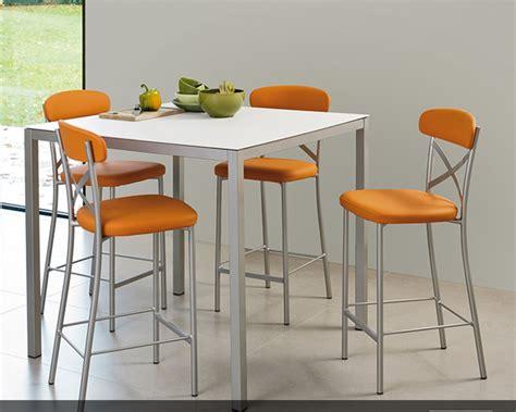 table de cuisine chaise table et chaise haute pour cuisine