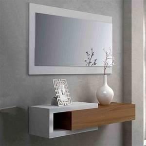 Mobile ingresso sospeso con specchio Gallery GARNERO ARREDAMENTI