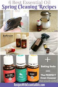 6 Best Essential Oil Spring Cleaning Recipes - Recipes ...