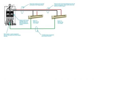 Wiring Baseboard Heater Forums