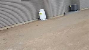 Propane Tank And Heat Pump