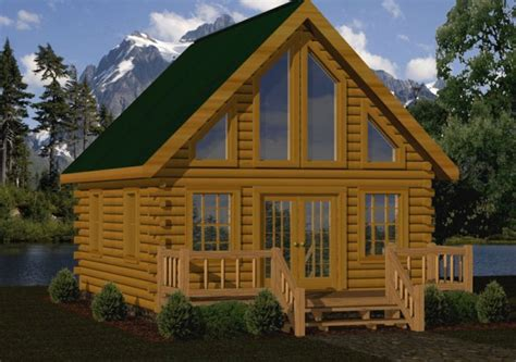 small log cabin kits floor plans cabin series  battle creek tn