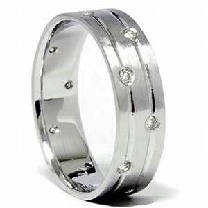 mens white gold diamond comfort fit wedding ring band With mens wedding rings comfort fit