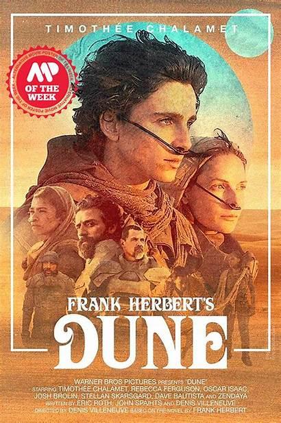 Dune Retro Poster Futurum Amp Movie Film