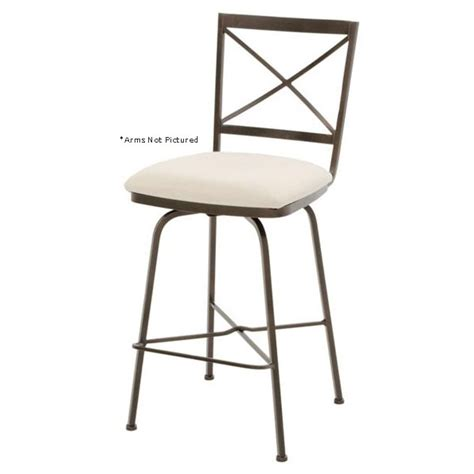 pictured here is the barkley swivel counter stool with