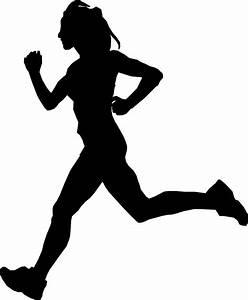Clipart - Female Runner 2