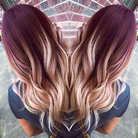Coloring Ideas For Hair by Best 25 Hair Colors Ideas On Winter Hair