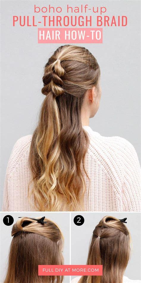 Can I Pull Hair by Best 25 Pull Through Braid Ideas On Hair