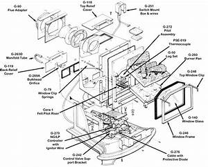 Kenmore Gas Range Parts Diagram