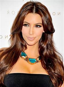 Kim Kardashian light brown hair | MakeUp | Pinterest