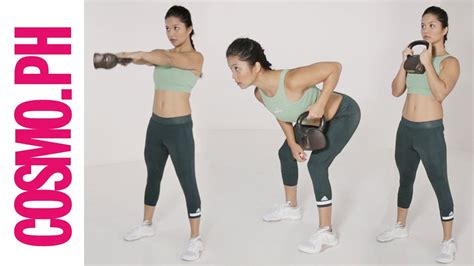 kettlebell easy beginners exercises