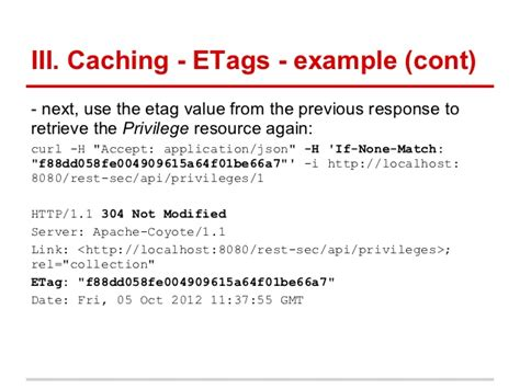 Apache Etag by Rest With