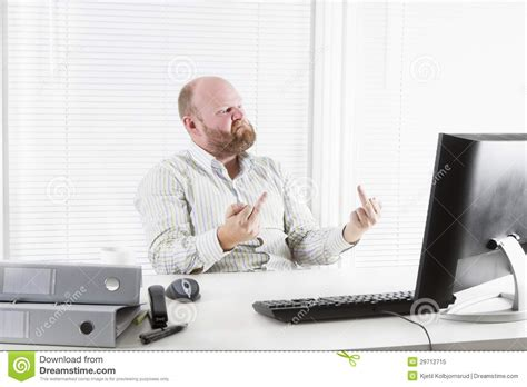 bureau d ude g ie civil pointing with his finger stock photo